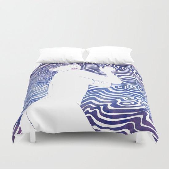 Water Nymph XXIV Duvet Cover