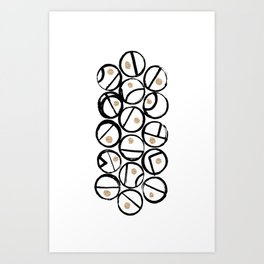 Grains of Aether Art Print