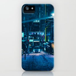 From My Umbrella -Snowy Night- iPhone Case