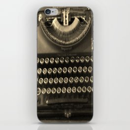 typeography iPhone Skin