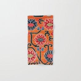 Shigatse South Tibetan Jabuye Rug Print Hand & Bath Towel