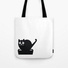 Surprised cat! Tote Bag