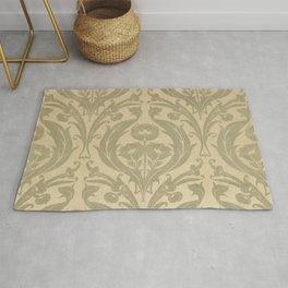 William Morris Textile Pattern  Rug