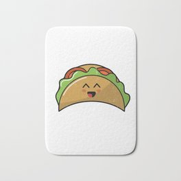 Lets Taco About Real Estate I Mexican Realtor Gift product Bath Mat