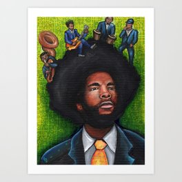 Questlove and the Roots Art Print