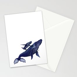 Whale whale whale Stationery Cards