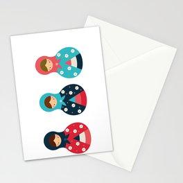 Matrioshkas Group Stationery Cards