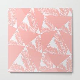 Tropical Geometric Metal Print
