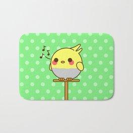 Kawaii birdy Bath Mat