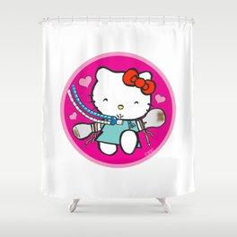 Ketty: ICU Nurse Humor Shower Curtain