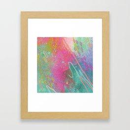 Pool Party Framed Art Print