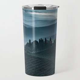 One cold day in Toscany Travel Mug