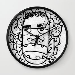 The Cool Dude Wall Clock