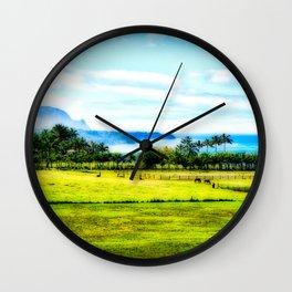 Silent Sage 0009 Kauai Wall Clock