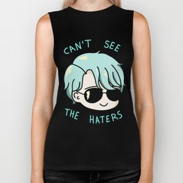 V mystic messenger can't see the haters Biker Tank