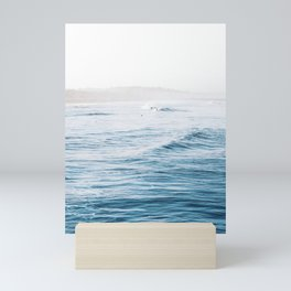 Blue Wave Mini Art Print
