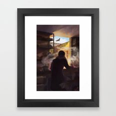 groundbound Framed Art Print
