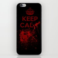keep calm iPhone & iPod Skins featuring Keep calm? by Eveline