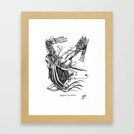 Aquatic Situation Framed Art Print