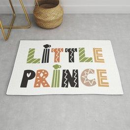 Little Prince, Cute Boy Nursery Art Rug