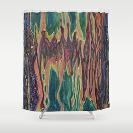 Unknown Immortal Species (The Door of Transcendence) Shower Curtain