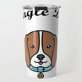 Beagle Dad Funny Love Dog Pet Gift Travel Mug