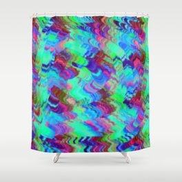 motif laine 4 Shower Curtain