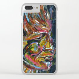 Brazilian indigenous Clear iPhone Case