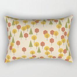 Geometric Woods Ver. 3 Rectangular Pillow