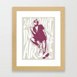 24k magic Framed Art Print