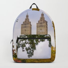 Fall in Central Park (fall foliage, autumn colors, NYC skyline) Backpack