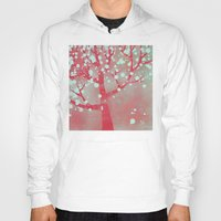 blossom Hoodies featuring Blossom by Nic Squirrell