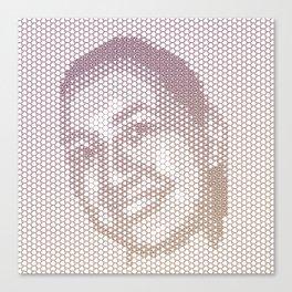 Tessellated Portraits - H.L. Canvas Print