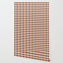 Flag of romania-romania,romanian,balkan,bucharest,danube,romani,romana,bucuresti Wallpaper