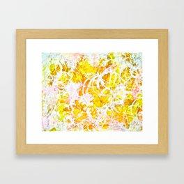 Golden Shine Framed Art Print