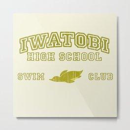Iwatobi - Penguin Metal Print