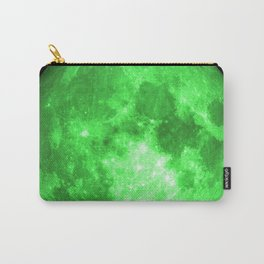 Green full moon Carry-All Pouch
