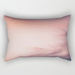 The Sunset Sky (Color) Rectangular Pillow