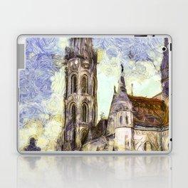The Church Vincent Van Gogh Laptop & iPad Skin