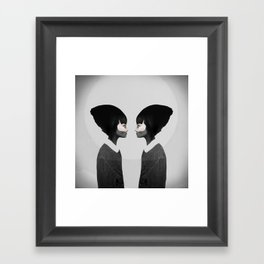 A Reflection Framed Art Print