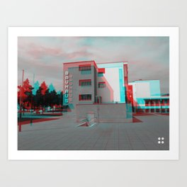 Bauhaus · Das Bauhaus 2 Art Print