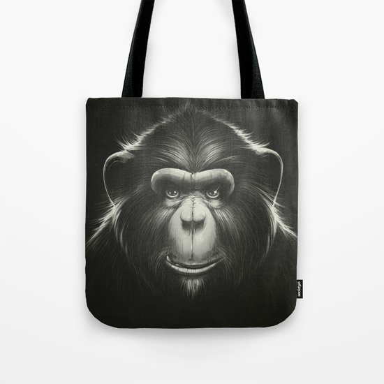 Monkee with Tooth Tote Bag