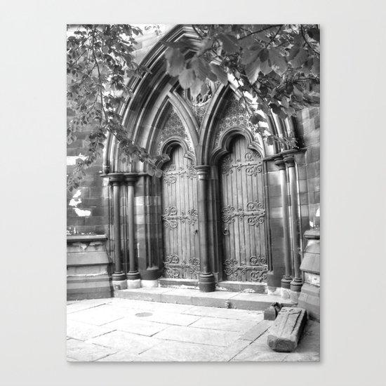 church door Canvas Print