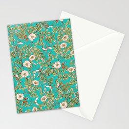 Teal Botanical #society6 #decor #buyart Stationery Cards
