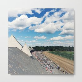 Rooftop View at Saratoga Race Course Metal Print