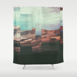Fractions A62 Shower Curtain