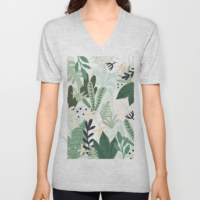 Into the jungle II Unisex V-Neck