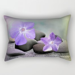 evergreen blossoms -1- Rectangular Pillow
