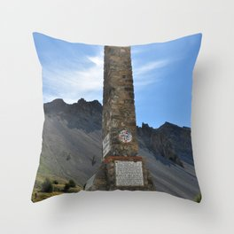 Izoard Throw Pillow