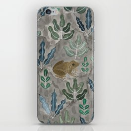 Save the frogs! iPhone Skin